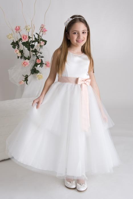comprare on line ad8db 62a03 COLLEZIONE DAMIGELLE BIMBE | Merinda Spose Atelier Vetralla ...
